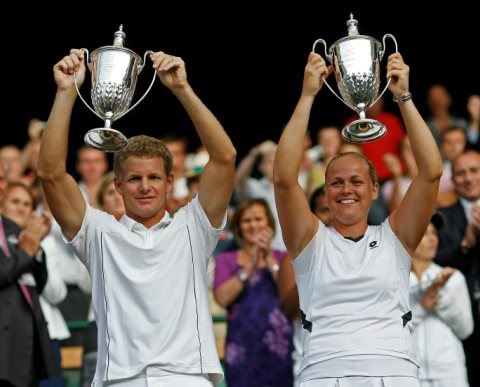 Mark Knowles and Anna-Lena Gronefeld 2009 Mixed Doubles